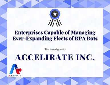 Our Achievements - Accelirate