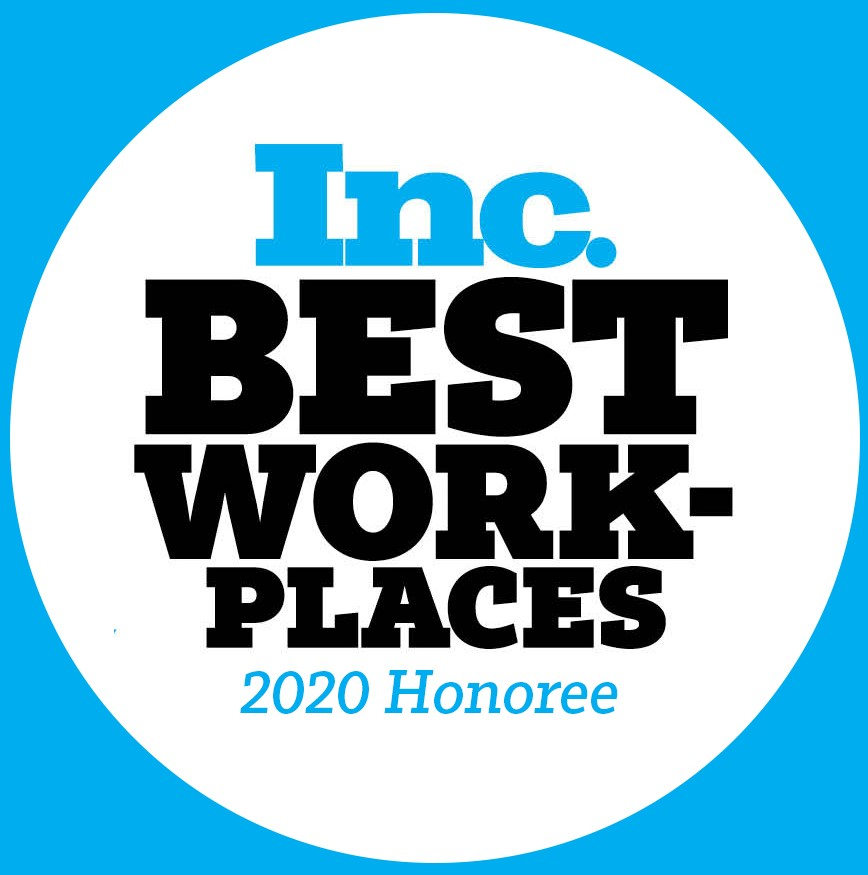 INC Best Work-Place 2020 Honoree